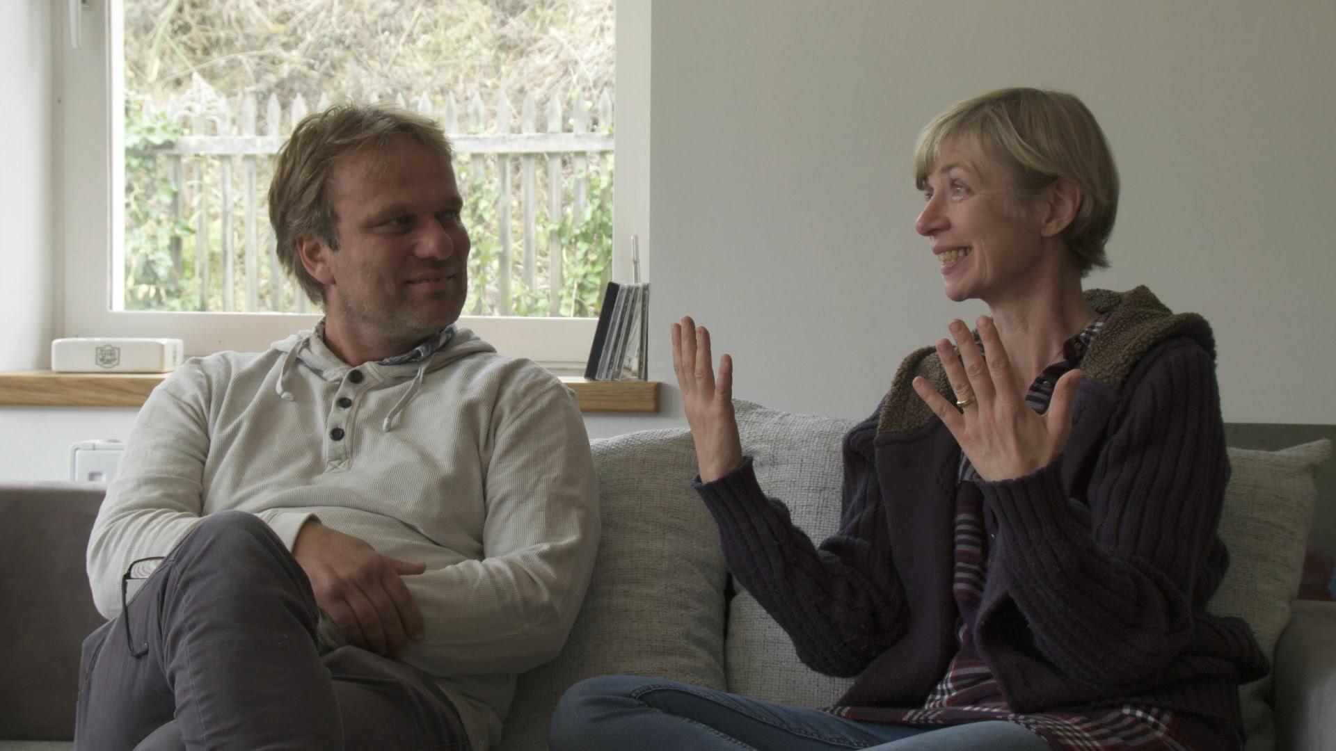 Volker und seine Schwester
