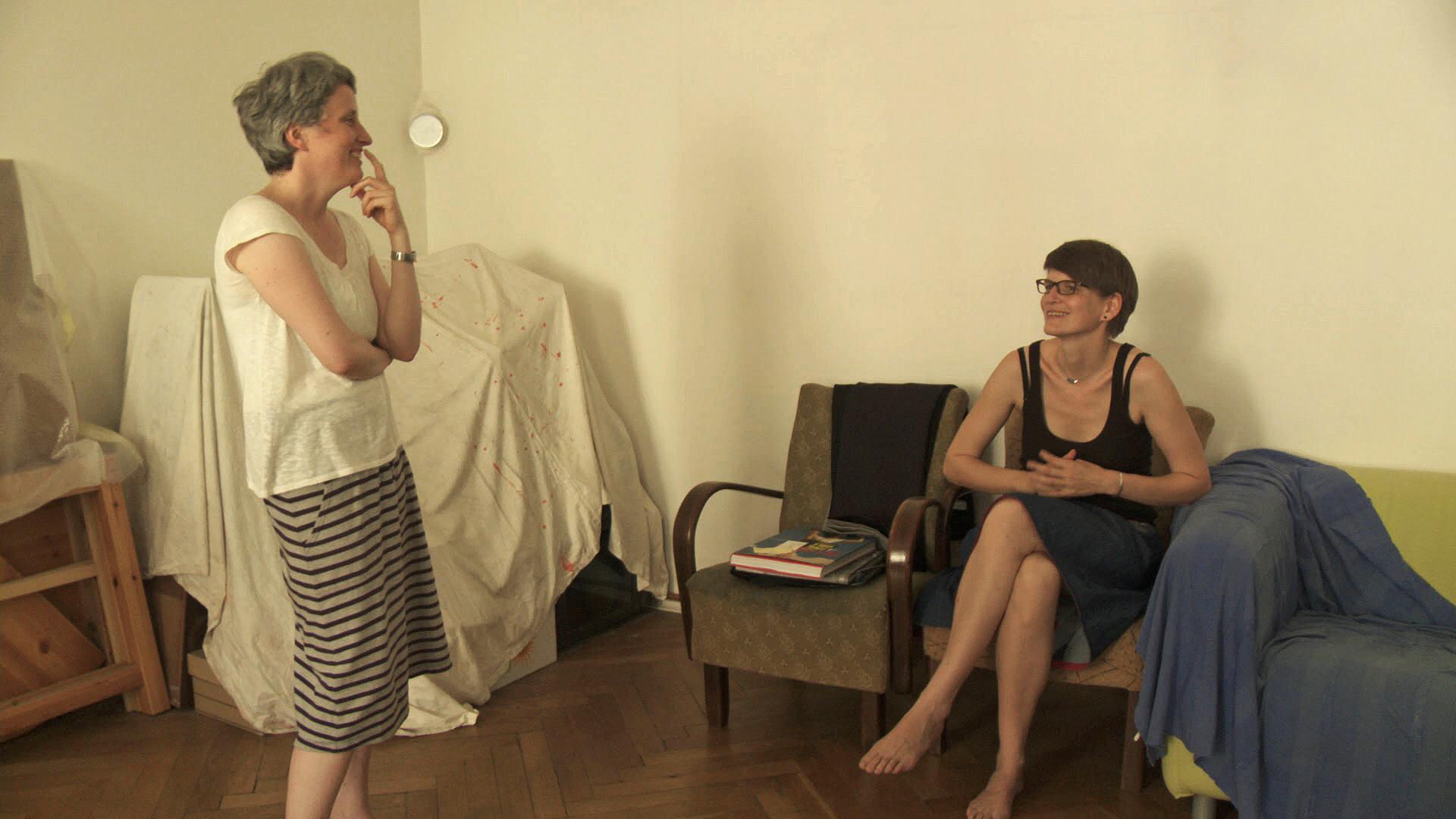 Stottern_Regie_Petra Nickel und Birgit Gohlke